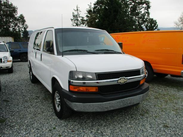2012 chevy express 3500 1 ton cargo van