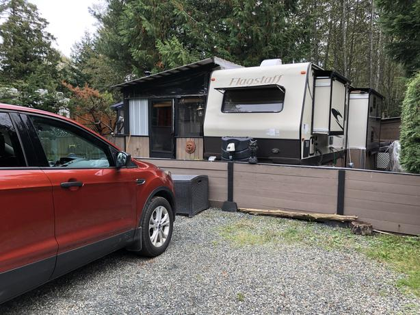 RV in sought after park (with all kinds of pluses) Qualicum Bay RV Resort