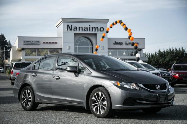 Used 2013 Honda Civic EX No Accidents Low Kilometers Sedan