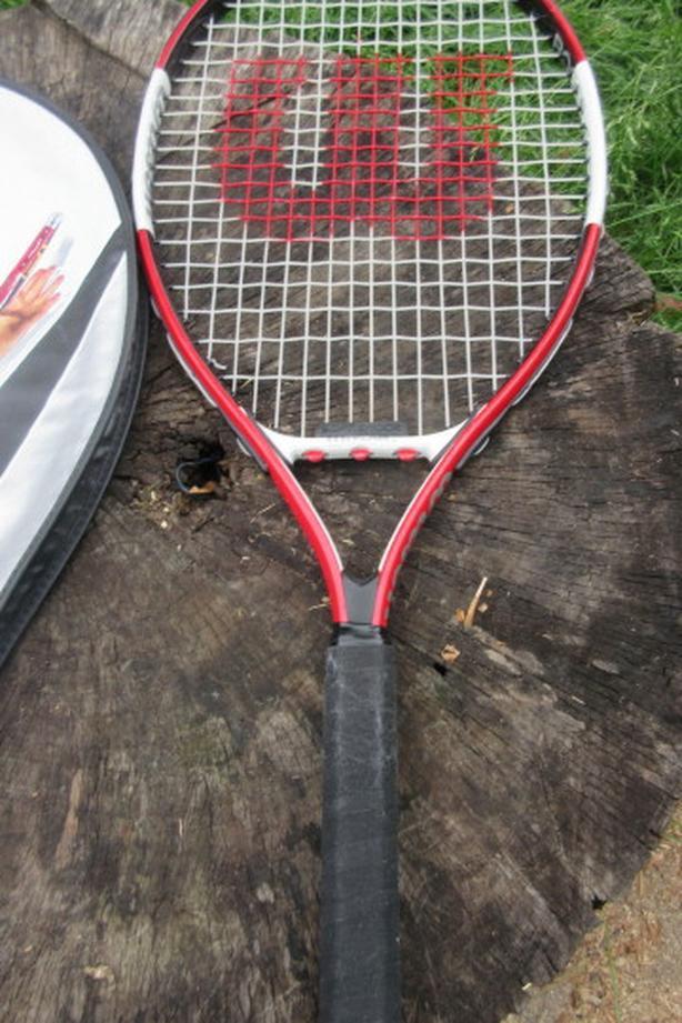Wilson titanium junior tennis racket