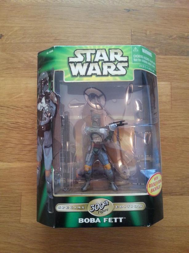 Boba Fett 300th Figure, Never Opened