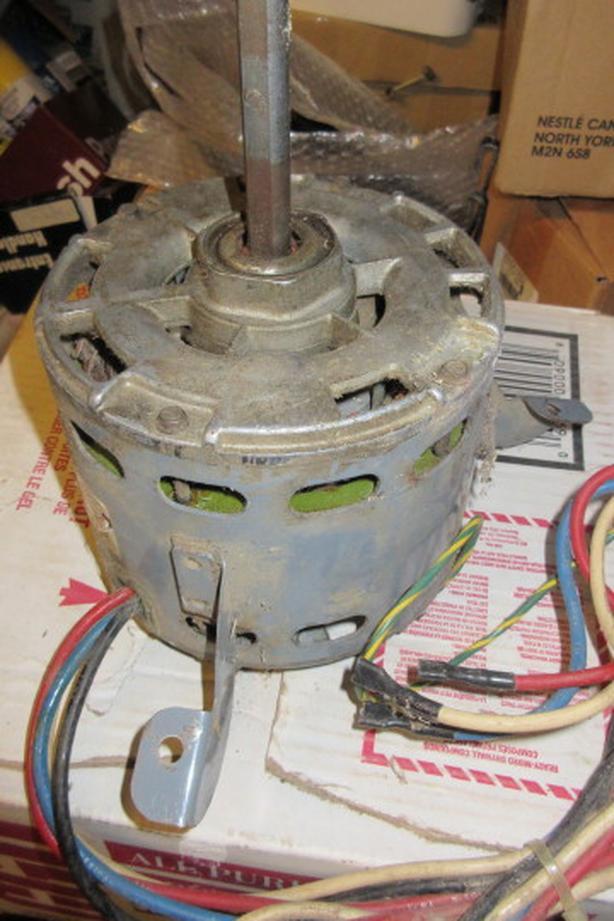 3 speed 1/3 HP 115V motor with NEMA frame