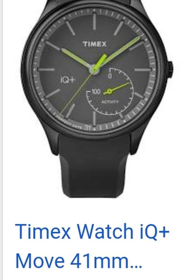 Timex IQ+ modle M328 smart watch