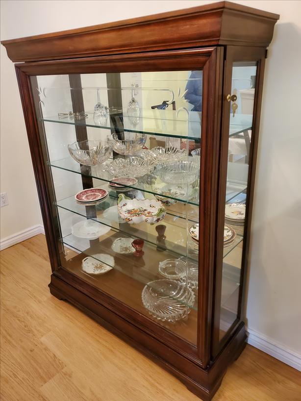 Elegant China or Display Cabinet