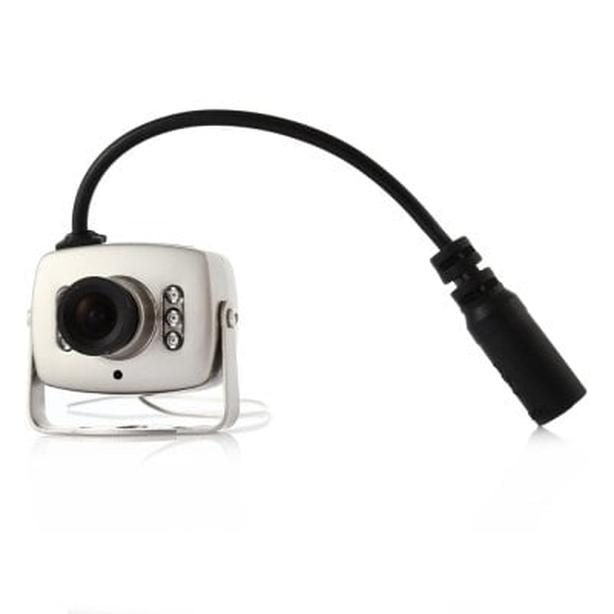 Mini wireless color CCTV camera with audio & wireless receiver