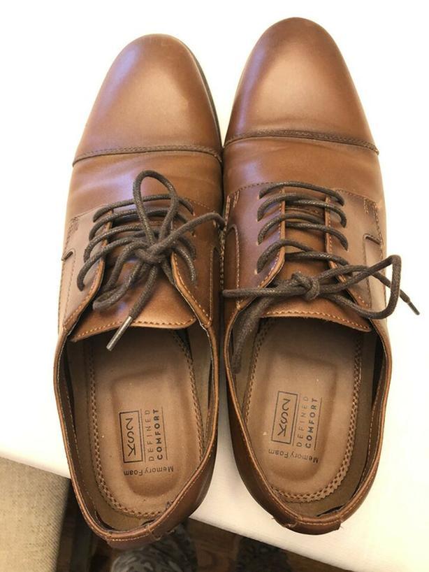 Men's KS2 Brown Dress Shoes Size 11