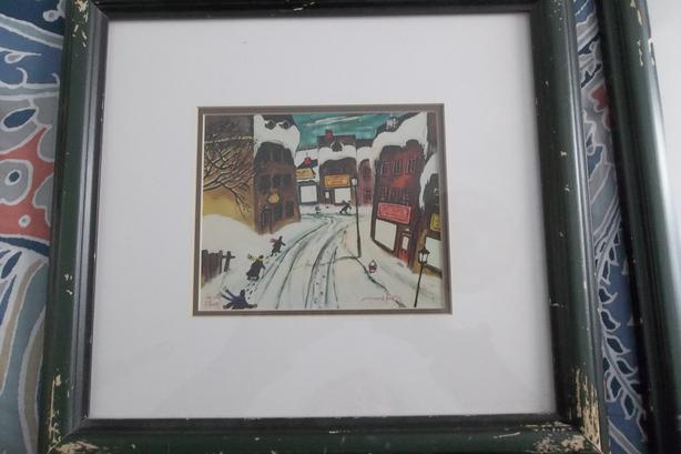 EACH! I have 2 little frame of Norman Hudon french cad caricaturist,