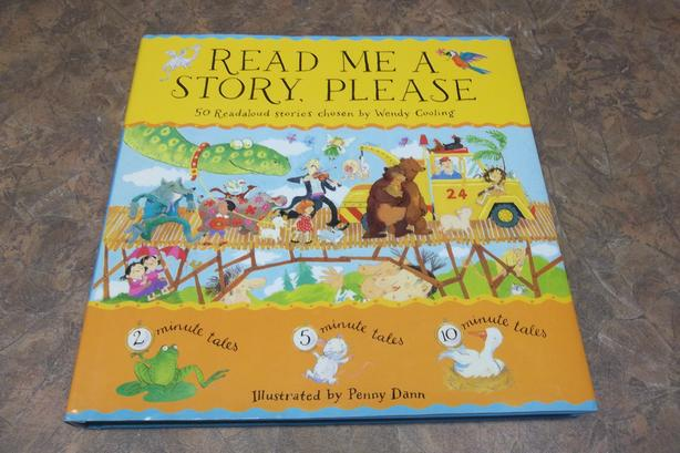 Beautiful hard cover stories book.Read Me a Story,