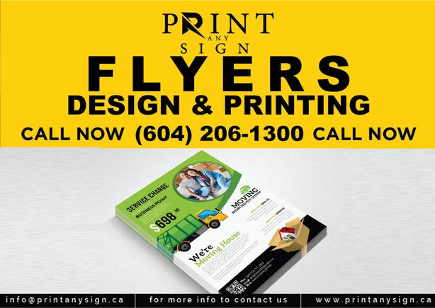 Flyers, Tshirts, Mug and other Printing are now available