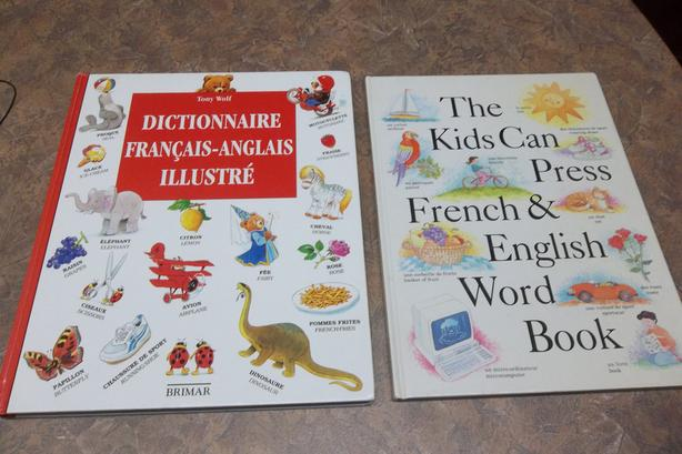 EACH! Dictionnaire francais/anglais et french english words book.