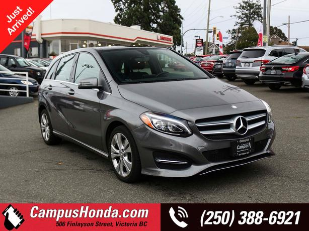 Used 2016 Mercedes-Benz B-Class B250 4MATIC   Premium Package   Low KM's Hatchba