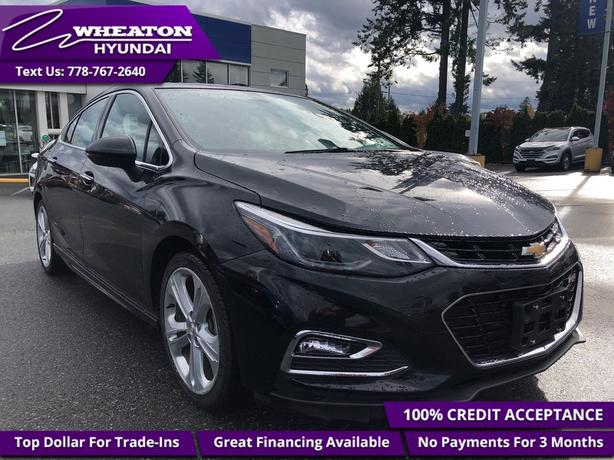 2018 Chevrolet Cruze Premier Premier, Heated Leather, Sunroof - $88.07
