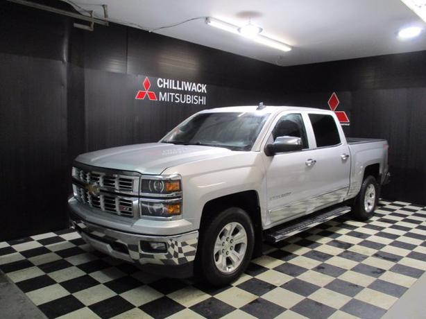 "Pre-Owned 2015 Chevrolet Silverado 1500 LTZ W/ 6"" LIFT 4WD Crew Cab Pickup"