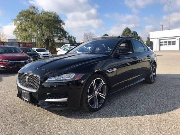 Pre-Owned 2019 Jaguar XF R-Sport Supercharged AWD 4D Sedan