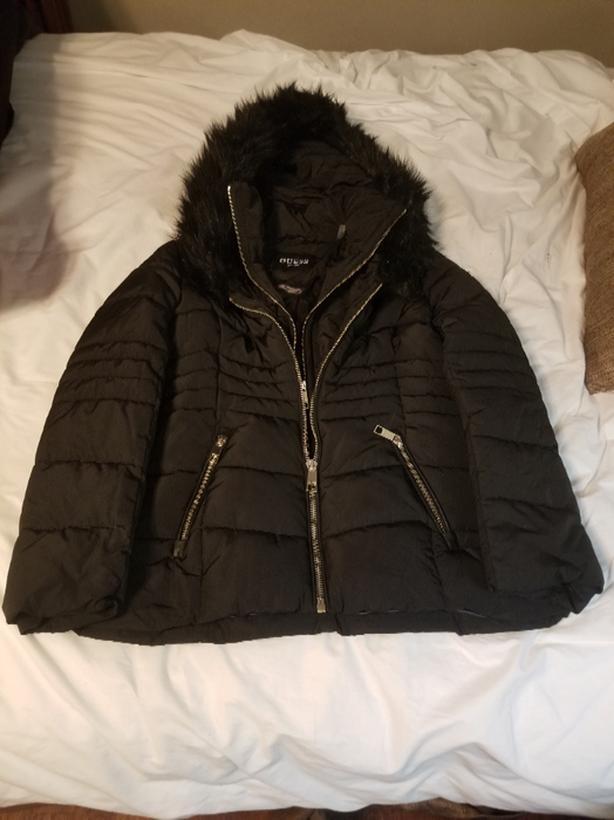 womens guess jacket