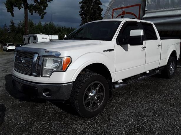 2010 FORD F150 LARIAT CREW CAB 4X4 LIVE FOR AUCTION!