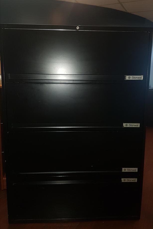 FREE Black Filing Cabinet