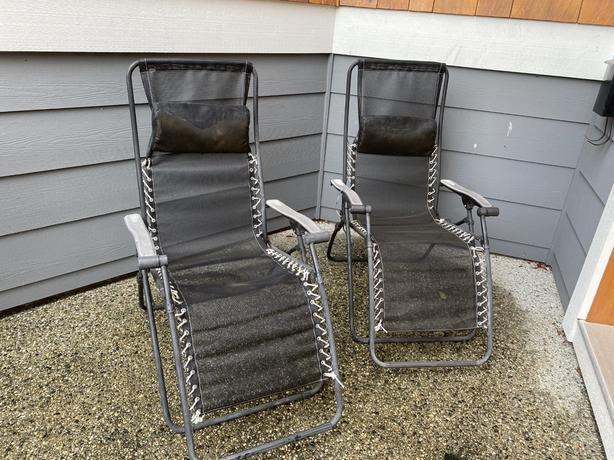 2 Lafuma Zero Gravity Chairs