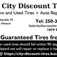Brand New Tires, clearance priced