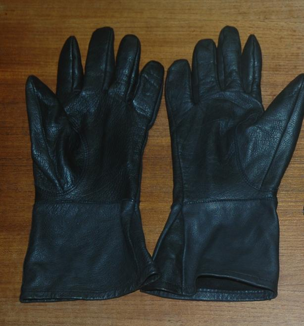 Leather Summer Motorcycle Gloves (1 pair)