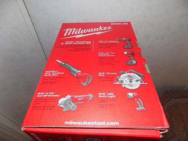 Milwaukee 2695-15 M18 Cordless 18V Lithium-Ion 15-Tool Combo Kit