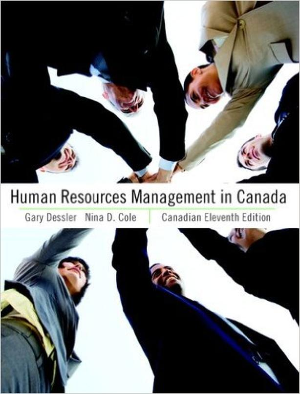 Textbook: HR in Canada