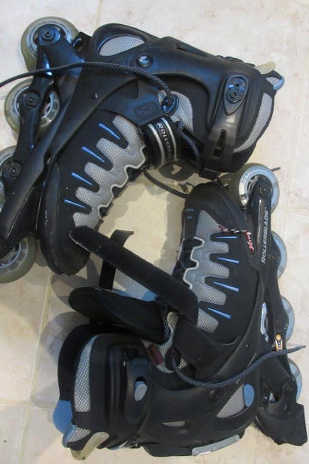 Women inline rollerblade skates Sz 10