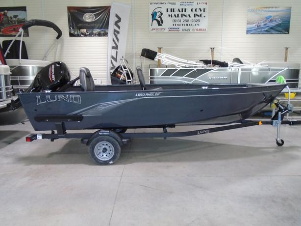 2021 1650 Angler Tiller - LF866