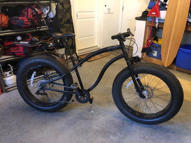 EVO Brewster Fat Tire Bike