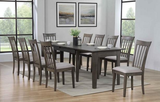 Condo Caterer 5 Piece Dining Set - 3 self storing leaves