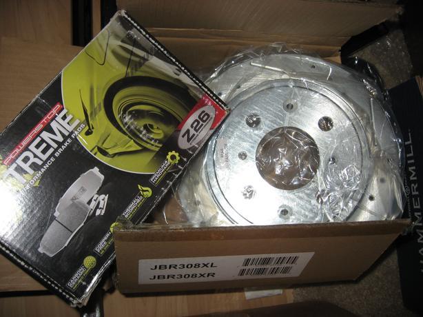 94-97 Honda Civic del sol complete performance brake kit