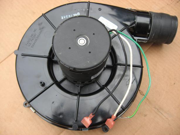 Gas furnace inducer motor