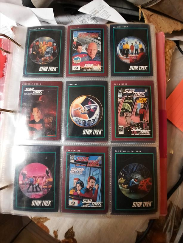COLLECTABLE Star Trek Cards