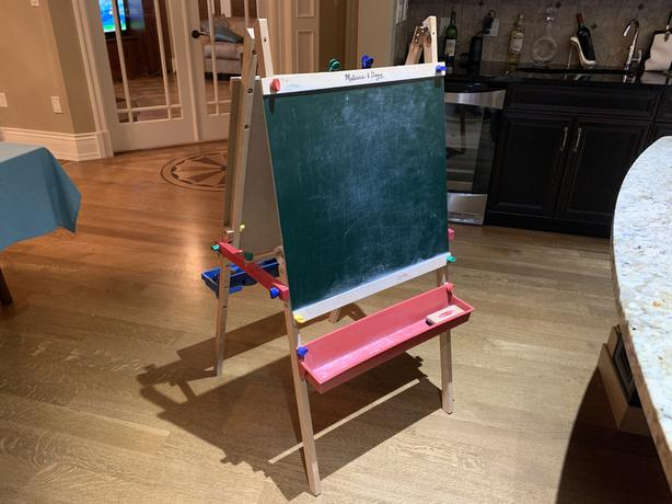 Melissa & Doug Chalkboard and Whiteboard