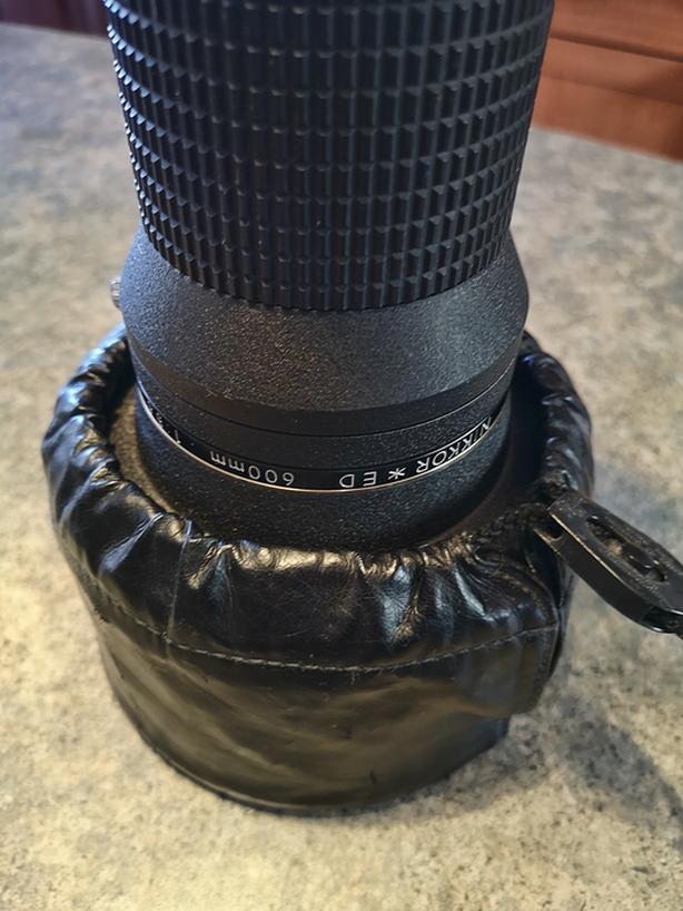 Nikon Nikkor ED 600mm F/5.6 IF ED AI-S AIS Lens