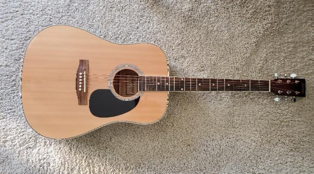 Acoustic Guitar and accessories - beginner