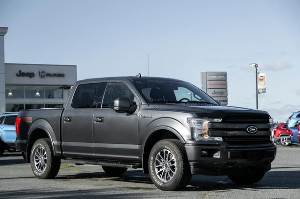 Used 2019 Ford F-150 Lariat No Accidents Navigation Truck SuperCrew Cab