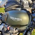 2017 Triumph Street Scrambler Matte Khaki Green