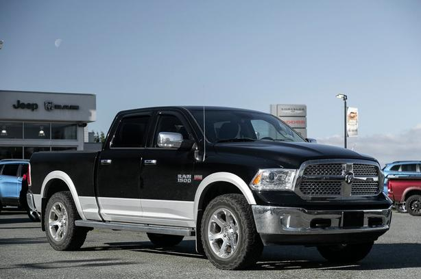 Used 2014 Ram 1500 Laramie No Accidents Navigation Truck Crew Cab