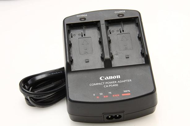 Canon dual battery charger