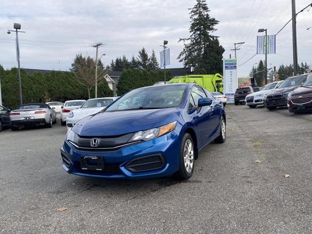 Pre-Owned 2015 Honda Civic LX Auto FWD 2D Coupe