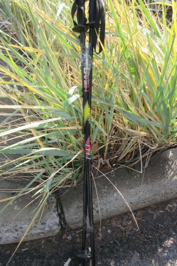 95cm alloy head ski poles