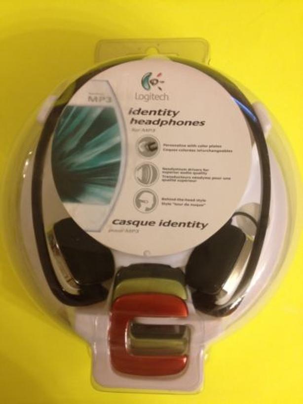 Logitech customizable behind head headset