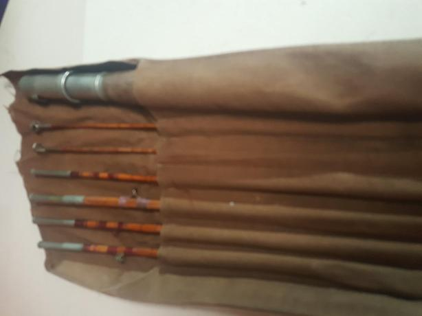 Vintage fly fishing rod