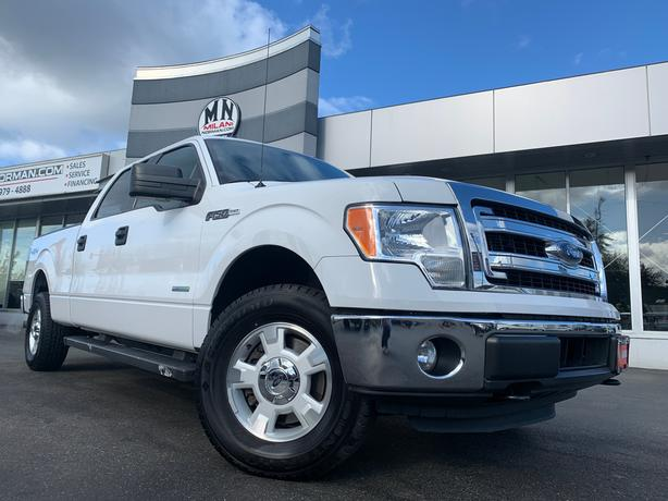 Used 2014 Ford F-150 XLT XTR 4WD CREW LB ECO-BOOST Truck SuperCrew Cab