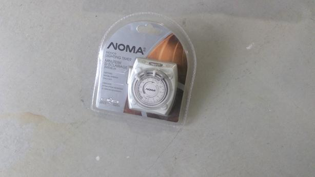 Noma Indoor Lighting timer