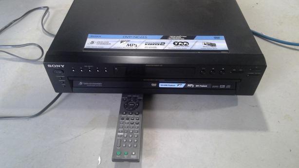Sony 5 DVD/CD Changer