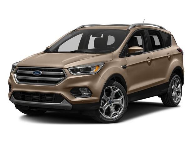 Pre-Owned 2018 Ford Escape Titanium 4WD 4D Sport Utility