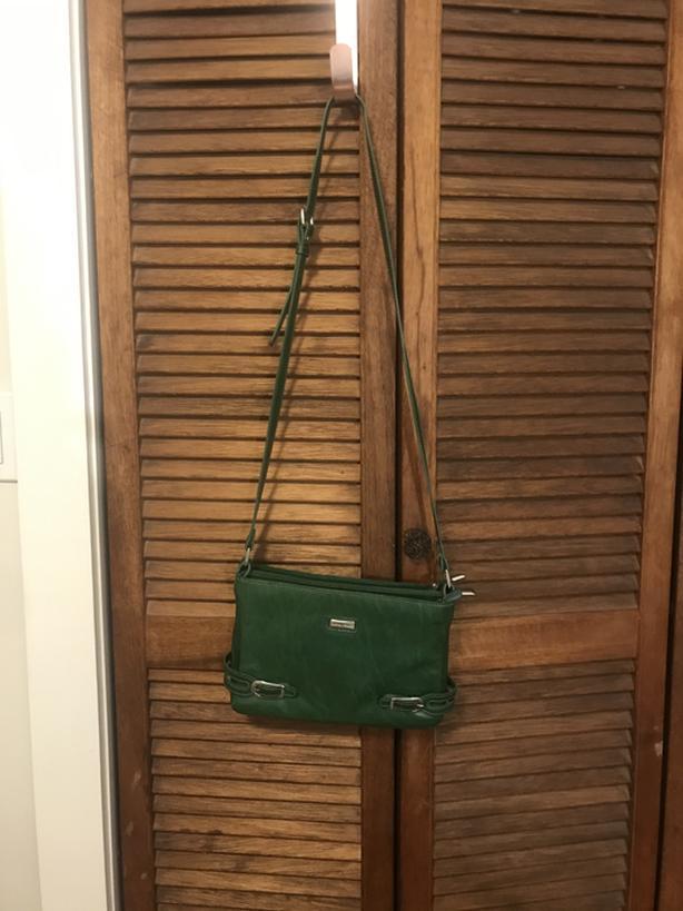 Full Leather Green Bag