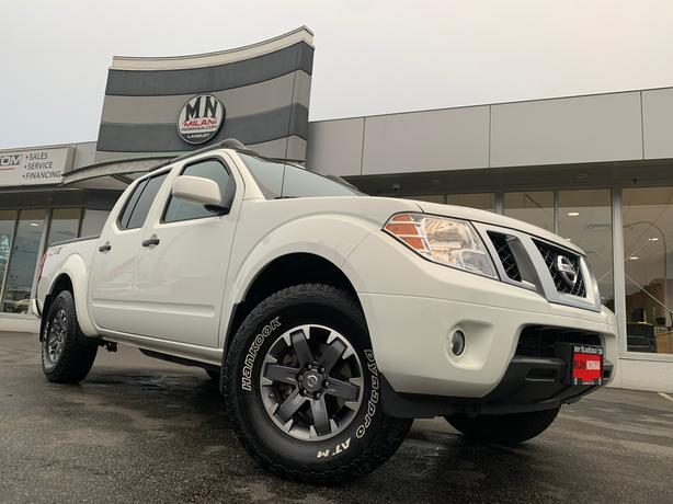 Used 2018 Nissan Frontier PRO-4X 4WD LEATHER SUNROOF NAVI Truck Crew Cab